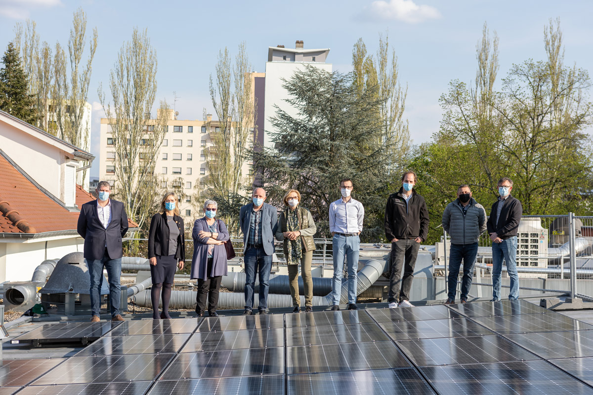 Une nouvelle centrale photovoltaïque