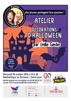 TUTO LUDO - Atelier décorations d'Halloween